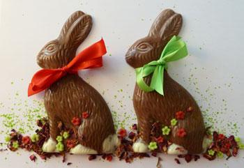 Schokoladen giessformen osterhase